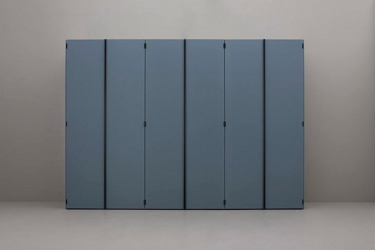 Офис, встроенный в шкаф – концепция домашнего офиса